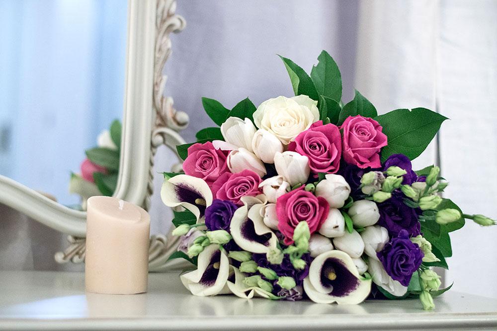 Flori si lumanare