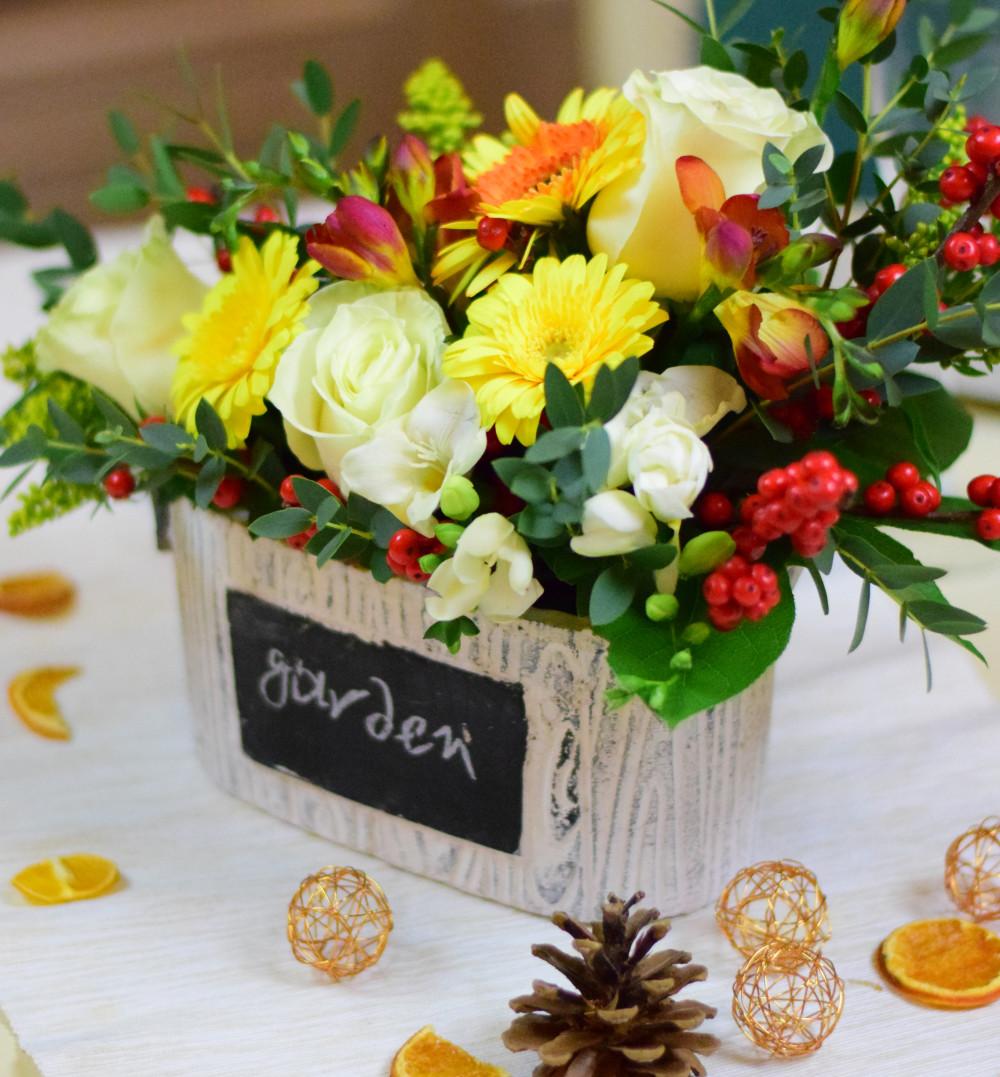 Cum sa faci un aranjament floral