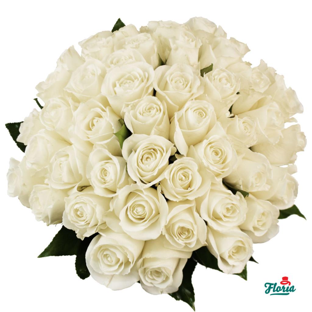 flori-buchet-de-43-trandafiri-albi-29548