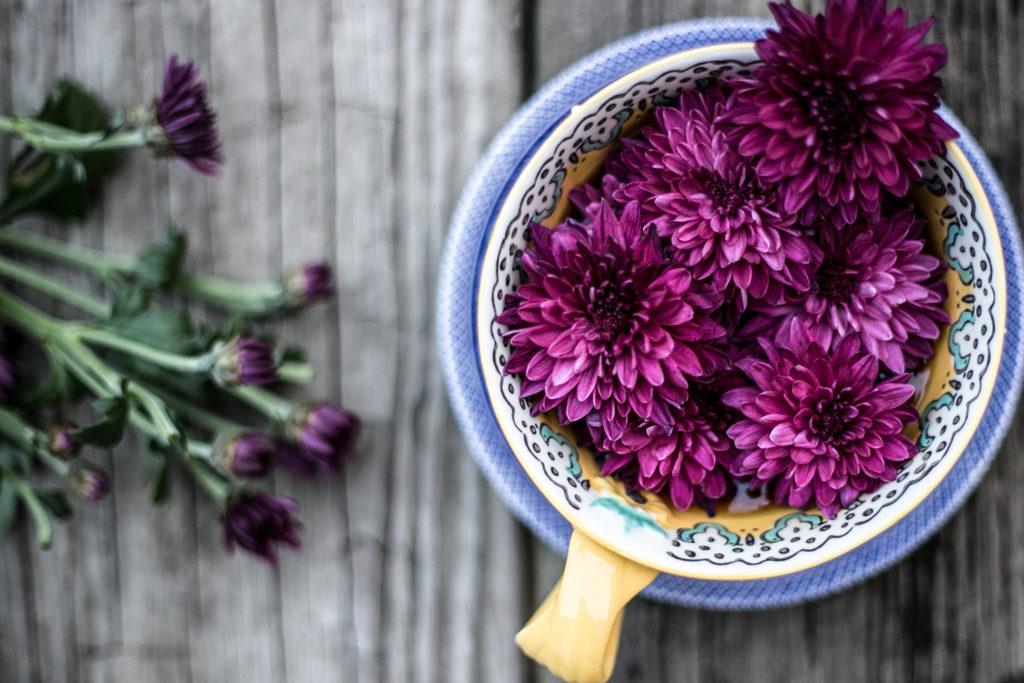 Cel mai rapid aranjament floral pe care îl poți face