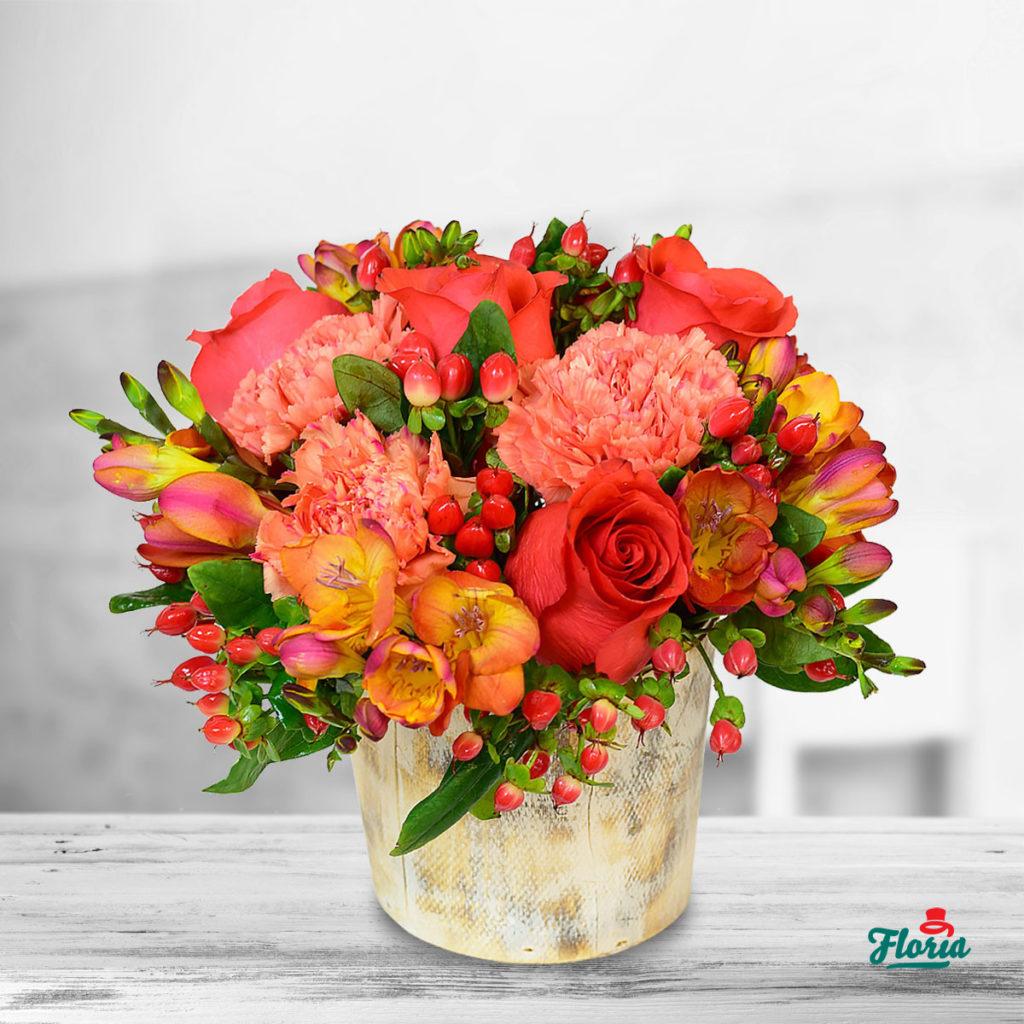 flori-aranjament-corai-33719
