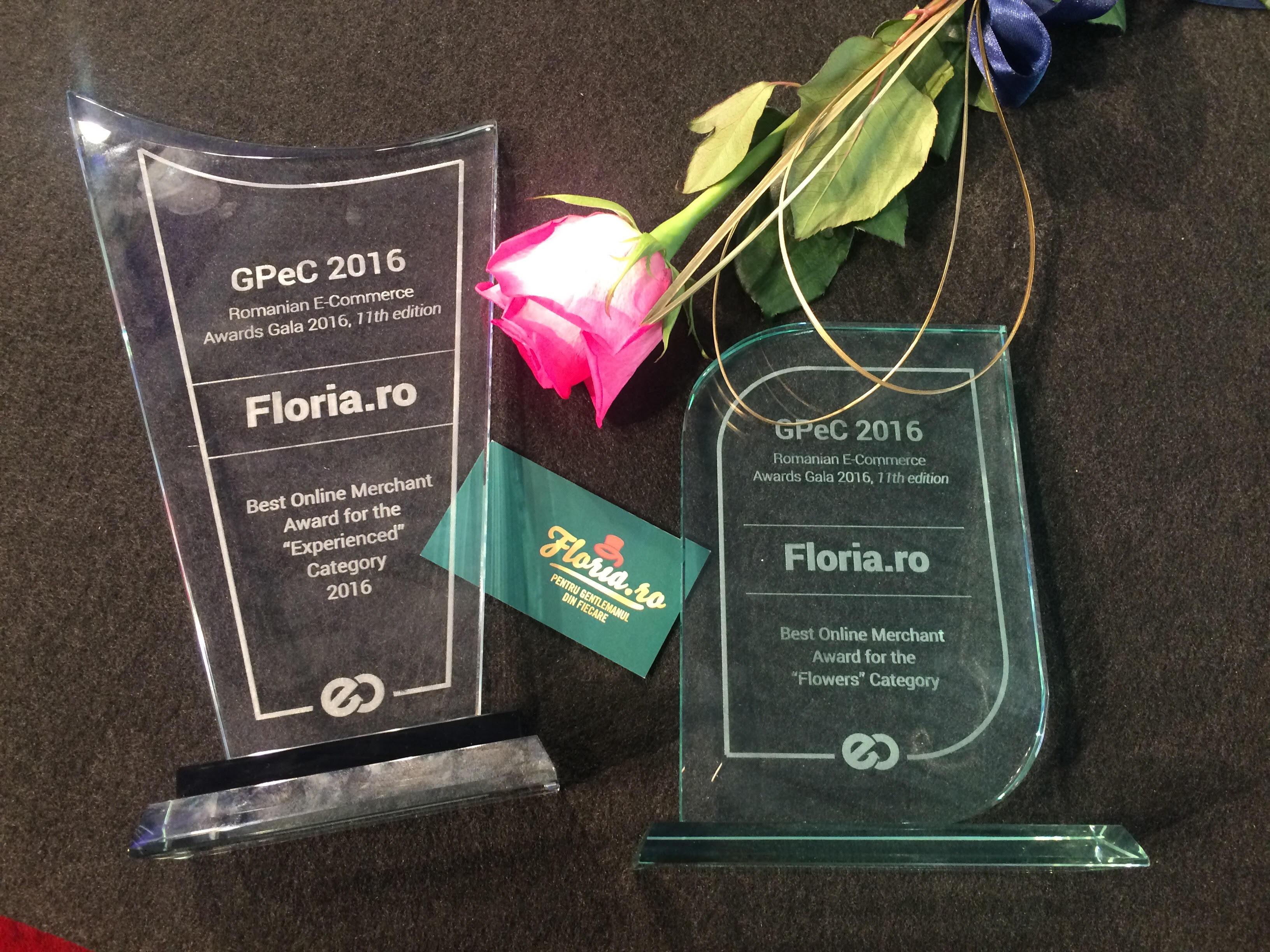 """Floria.ro – Best experienced si Best """"Flowers"""" la GPeC"""