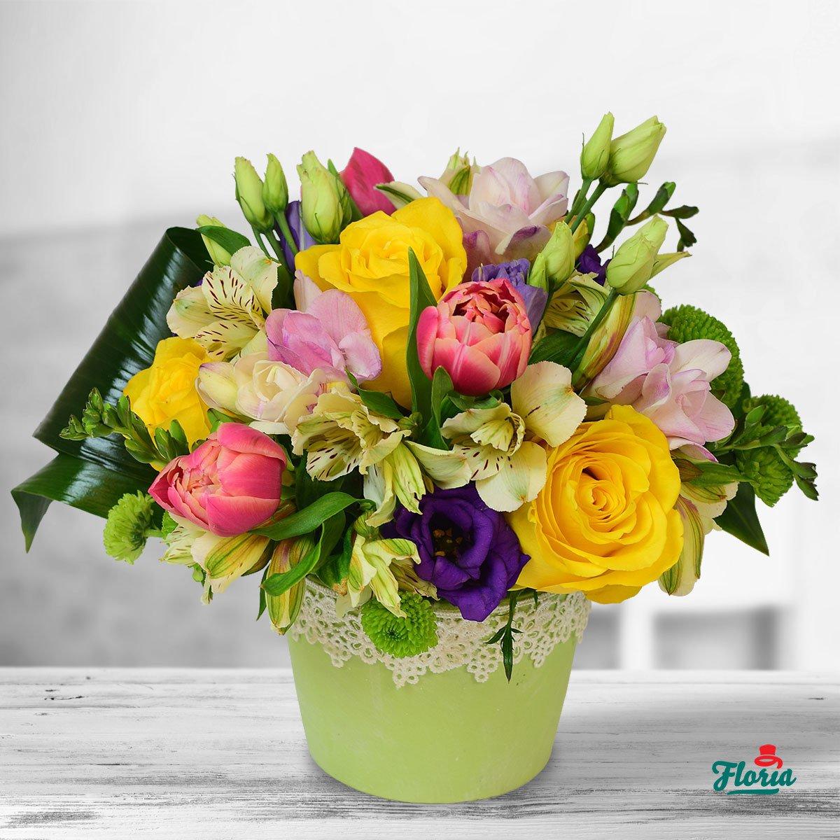 Top 5 buchete de flori pentru Sarbatoarea Sfintilor Constantin si Elena