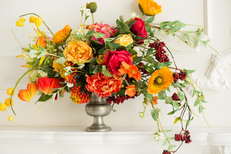 Flori de toamna cu ocazia Sfintei Maria Mici