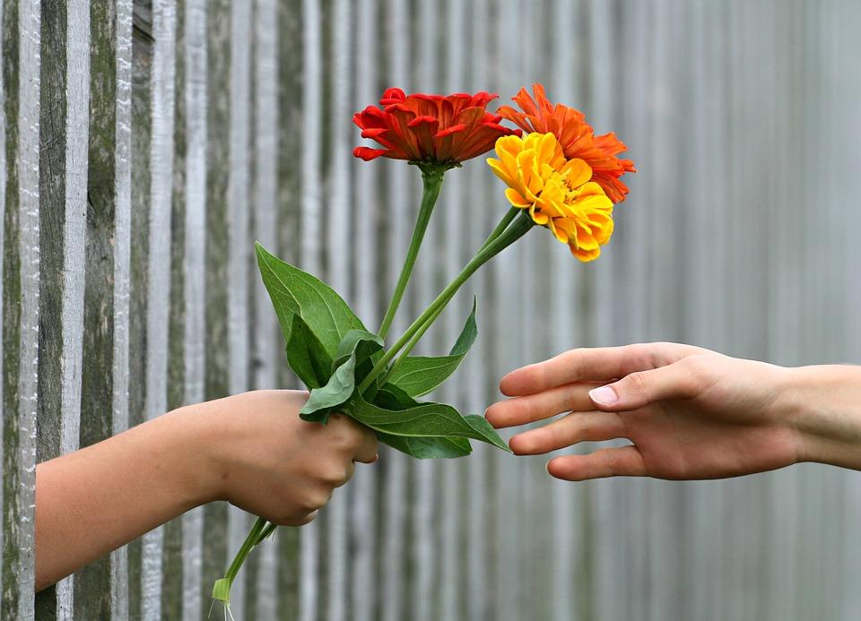 Concurs dupa Sarbatori. Cum preferi florile – invelite sau nu?