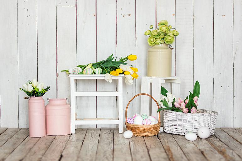Cum sa te folosesti de flori pentru a-ti decora casa de Paste