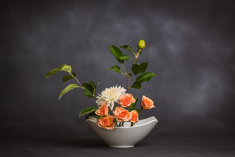 Ikebana – arta aranjamentelor florale